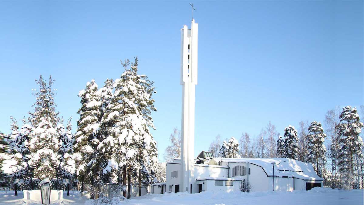 Iglesia de las tres cruces de Alvar Aalto